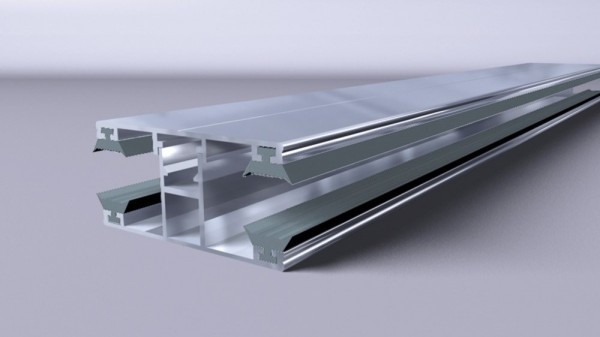 Alu-Komplett-Verbindungsprofil 16mm