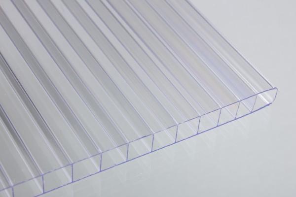 Stegplatten 10mm Polycarbonat glashell