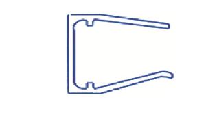 Alu-Abschlussprofil 16mm