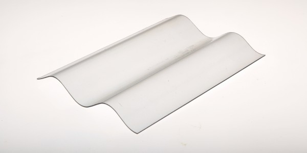 Lichtplatte Ondex® 76/18 Wellplatte glashell