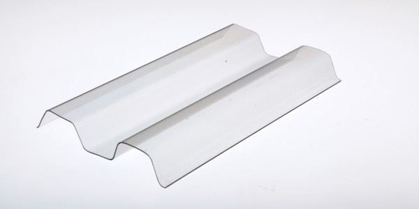 Lichtplatte Sollux® 70/18 Trapezprofil glashell