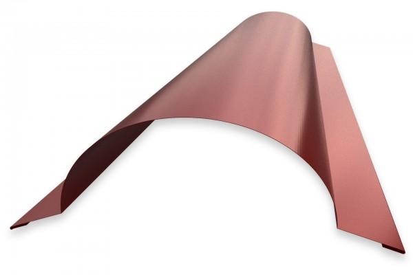 Firstprofil halbrund für Dachpfannenbleche