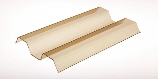 Lichtplatte Sollux® 70/18 Trapezprofil bronze