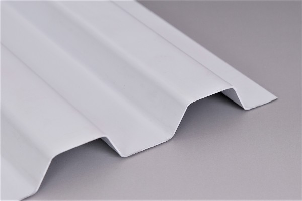Lichtplatte Sollux® 70/18 Trapezprofil weiß-opak