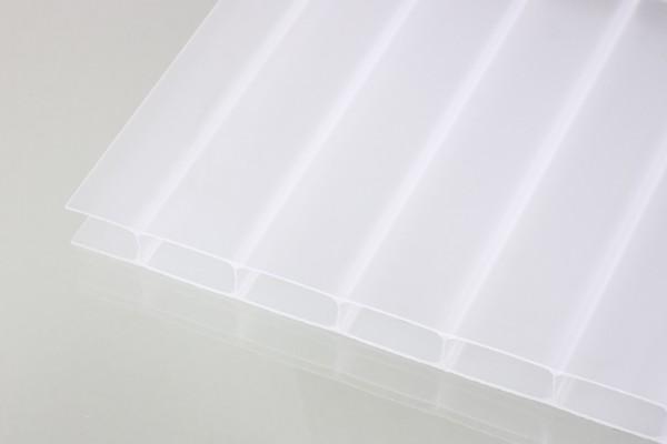 Stegplatten Acrylglas 16/32 weißopal
