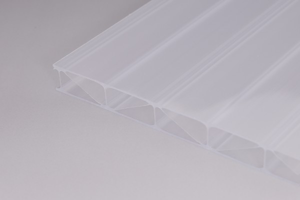 Stegplatten Polycarbonat 16/32 PREMIUM weißopal