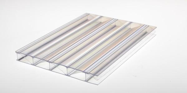 Stegplatten Polycarbonat 16/32 PREMIUM farblos