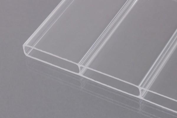 Stegplatten Acrylglas 16/64 glashell Breitkammer