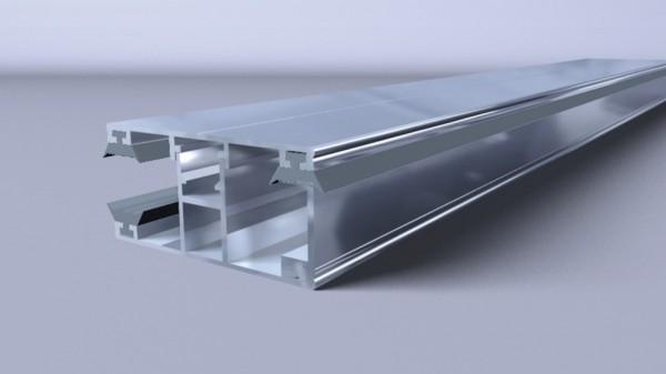 Alu-Komplett-Randprofil 16mm