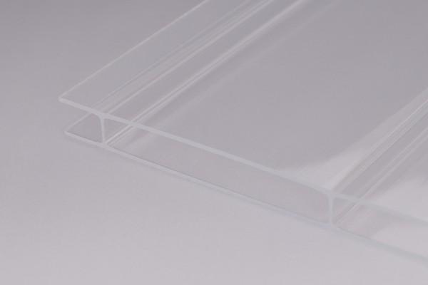 Stegplatten Acrylglas 16/96 glashell Breitkammer